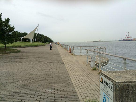 コスモスクエア釣り
