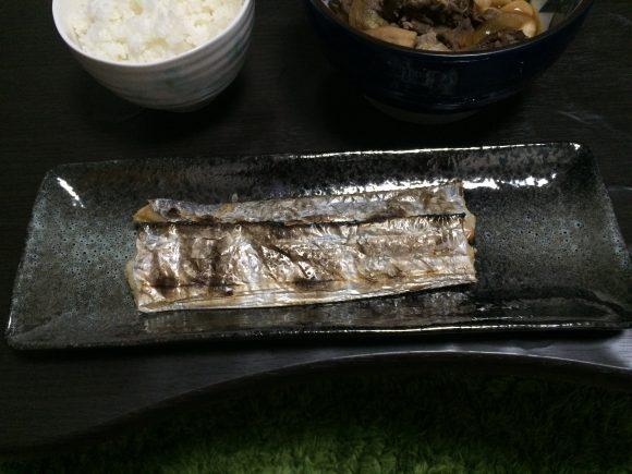 タチウオ塩焼き