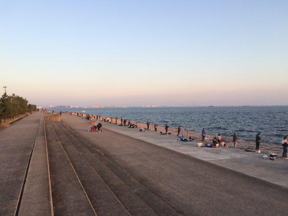 南芦屋浜ベランダ