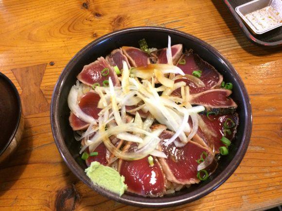 高知カツオのたたき丼
