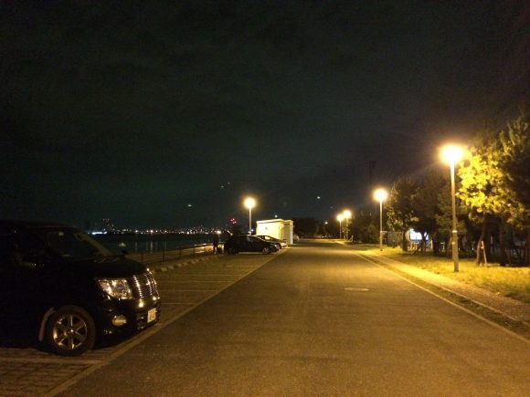 南芦屋浜駐車場