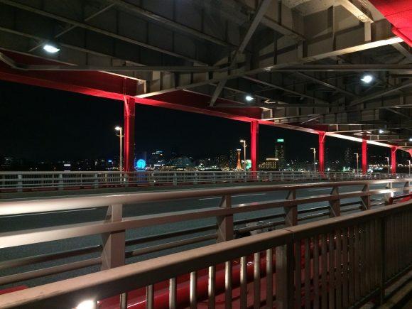 神戸大橋夜景